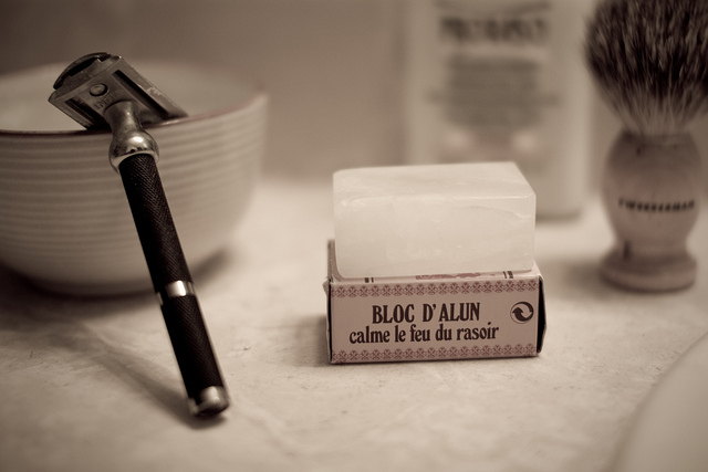 improve your shave with an alum block