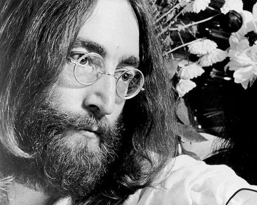 John Lennon Beard and Mustache