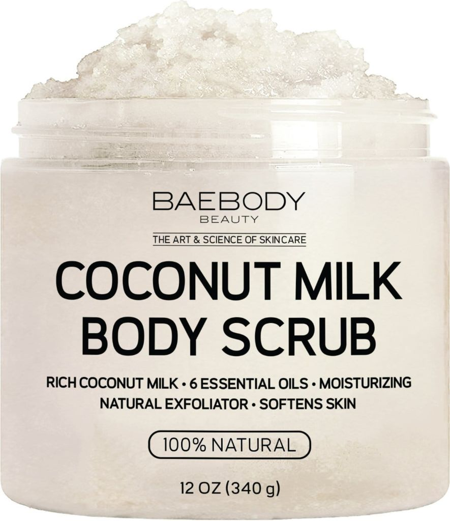 Baebody Coconut Milk Body Scrub