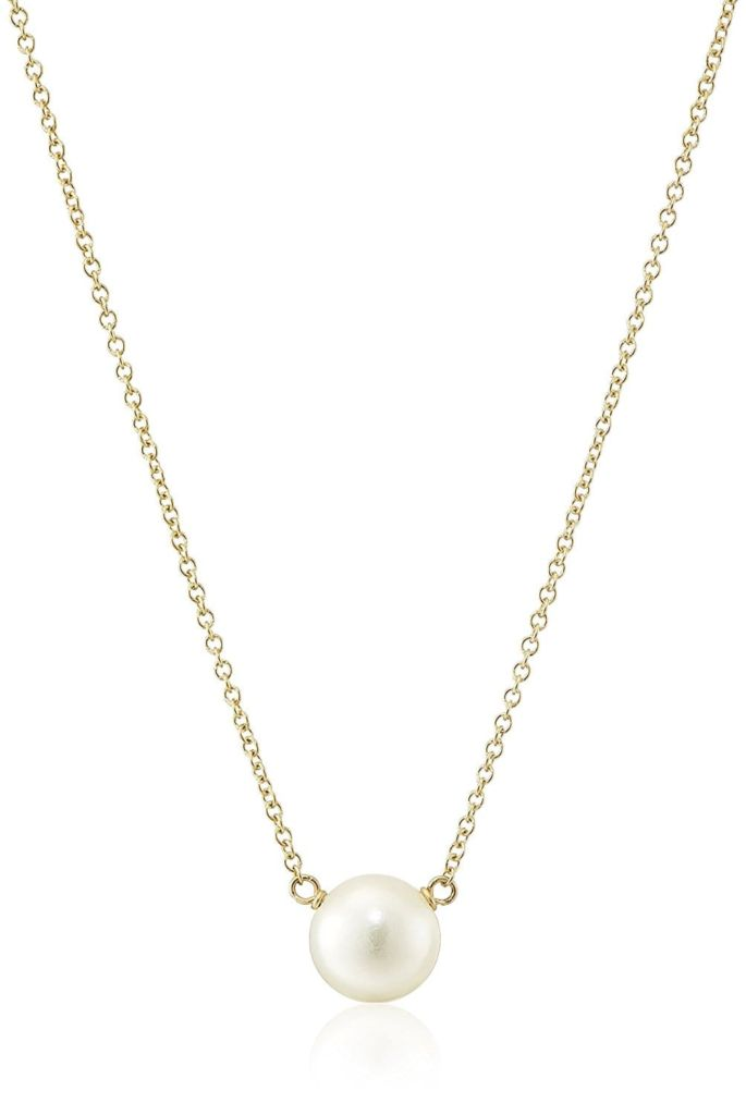 Dogeared Freshwater Pearl Necklace