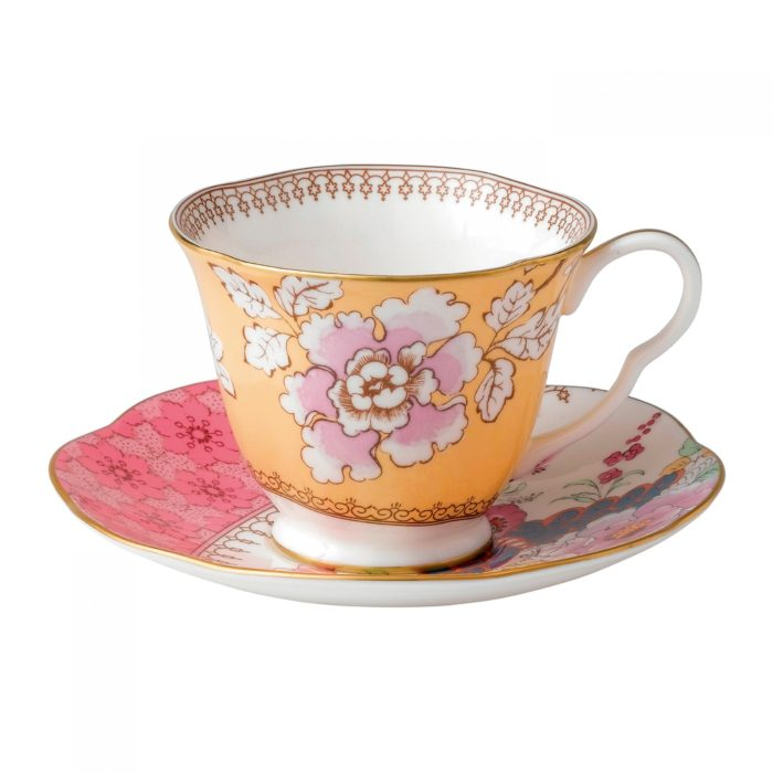 Wedgwood Butterfly Bloom Teacup Saucer