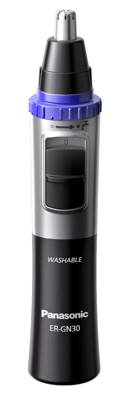 Panasonic Ear, Nose & Facial Hair Trimmer Wet/Dry with Vortex Cleaning System